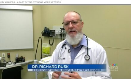 Dr. Richard Rusk on CTV Winnipeg for Antibiotic Awareness Week