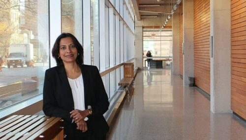 Dr. Lalitha Raman-Wilms of Rady Faculty of Health Sciences